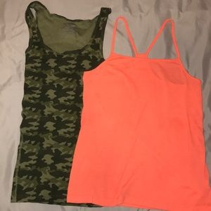 Tank top and camisol